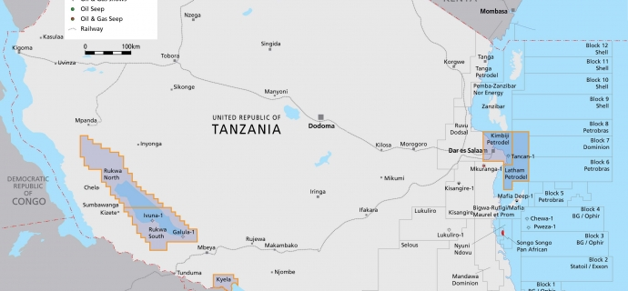 Huge gas reserves have been found in Tanzania