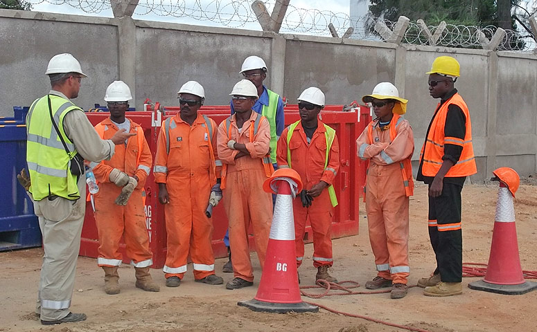 Regent Tanzania Mtwara Supply Base for Ophir Energy Off-shore Oil and Gas Drilling Campaign